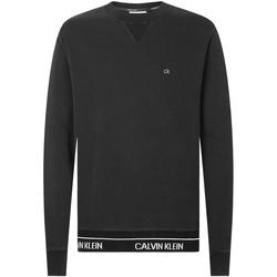 Ruhák Férfi Pulóverek Calvin Klein Jeans K10K105589 Fekete