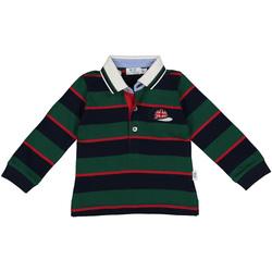 Ruhák Fiú Hosszú ujjú galléros pólók Melby 20C0270 Zöld