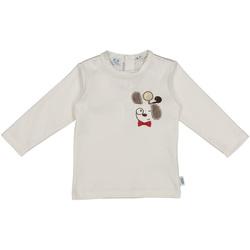 Ruhák Gyerek Pólók / Galléros Pólók Melby 20C2150 Fehér