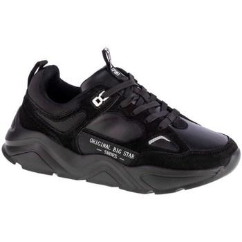 Cipők Női Rövid szárú edzőcipők Big Star GG274654 Fekete