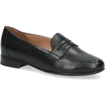Cipők Női Mokkaszínek Caprice Casual Low Heels Black Black