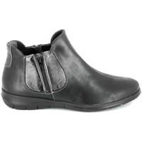 Cipők Női Csizmák Boissy 66000 Noir Fekete