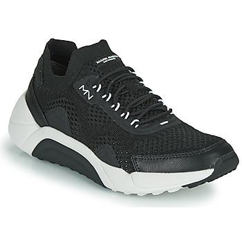 Cipők Férfi Rövid szárú edzőcipők Skechers ENDURO-SILVERTON Fekete