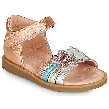 Cipők Lány Szandálok / Saruk Acebo's 1228-RAME Bronz