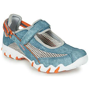 Cipők Női Sportszandálok Allrounder by Mephisto NIRO Kék