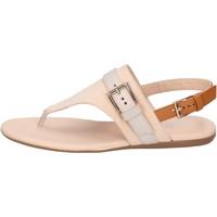 Cipők Női Szandálok / Saruk Hogan BK664 Bézs