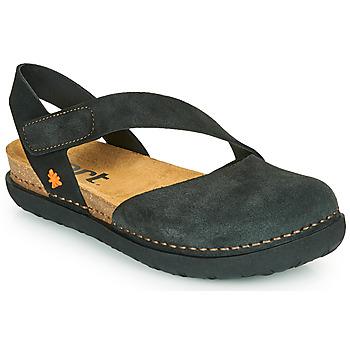 Cipők Női Balerina cipők  Art RHODES Fekete