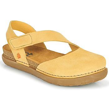 Cipők Női Balerina cipők  Art RHODES Citromsárga