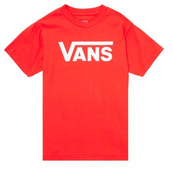 Ruhák Gyerek Rövid ujjú pólók Vans VANS CLASSIC TEE Piros