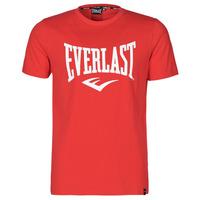 Ruhák Férfi Rövid ujjú pólók Everlast EVL- BASIC TEE-RUSSEL Piros