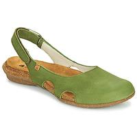 Cipők Női Szandálok / Saruk El Naturalista WAKATAUA Zöld