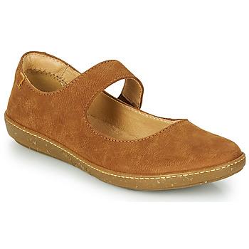 Cipők Női Balerina cipők  El Naturalista CORAL Barna