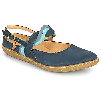 Cipők Női Balerina cipők  El Naturalista CORAL Tengerész