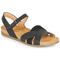 Cipők Női Szandálok / Saruk El Naturalista ZUMAIA Fekete