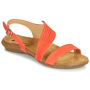 Cipők Női Szandálok / Saruk El Naturalista WAKATAUA Narancssárga