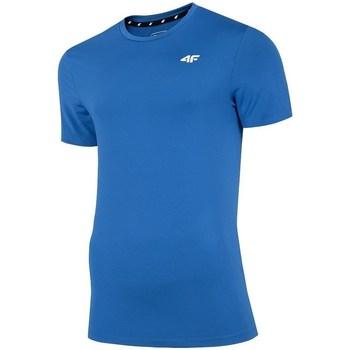 Ruhák Férfi Rövid ujjú pólók 4F TSMF002 Kék