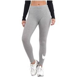 Ruhák Női Legging-ek Nike Wmns Club Logo Szürke