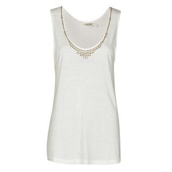 Ruhák Női Trikók / Ujjatlan pólók Kaporal PAMPI Fehér