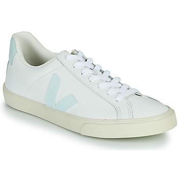 Cipők Női Rövid szárú edzőcipők Veja ESPLAR LOGO Fehér / Kék