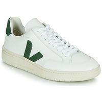 Cipők Rövid szárú edzőcipők Veja V-12 Fehér / Zöld