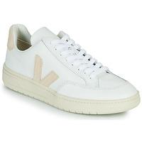 Cipők Rövid szárú edzőcipők Veja V-12 Fehér / Bézs