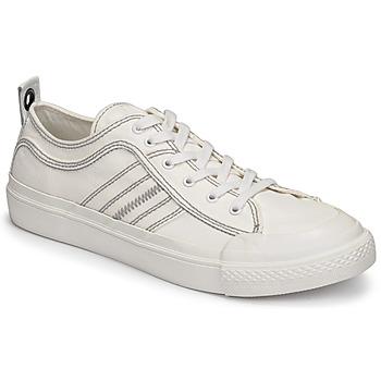 Cipők Férfi Rövid szárú edzőcipők Diesel TAORMINY Fehér