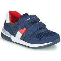 Cipők Gyerek Rövid szárú edzőcipők Tommy Hilfiger JEROME Kék