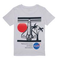 Ruhák Fiú Rövid ujjú pólók Name it NASA Fehér