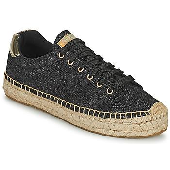 Cipők Női Rövid szárú edzőcipők Replay NASH Fekete