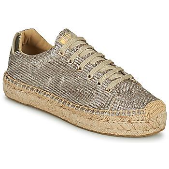Cipők Női Rövid szárú edzőcipők Replay NASH Bronz / Arany
