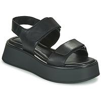 Cipők Női Szandálok / Saruk Vagabond Shoemakers COURTNEY Fekete