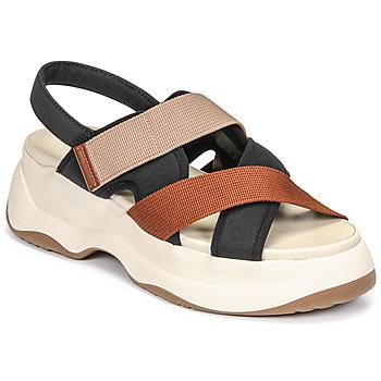 Cipők Női Szandálok / Saruk Vagabond Shoemakers ESSY Fehér / Rozsda / Fekete