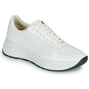 Cipők Női Rövid szárú edzőcipők Vagabond Shoemakers JANESSA Fehér