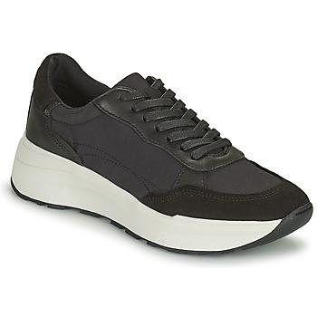 Cipők Női Rövid szárú edzőcipők Vagabond Shoemakers JANESSA Fekete