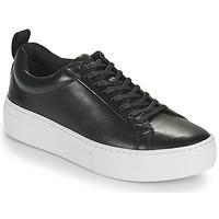 Cipők Női Rövid szárú edzőcipők Vagabond Shoemakers ZOE PLATFORM Fekete