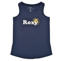 Ruhák Lány Trikók / Ujjatlan pólók Roxy THERE IS LIFE FOIL Tengerész