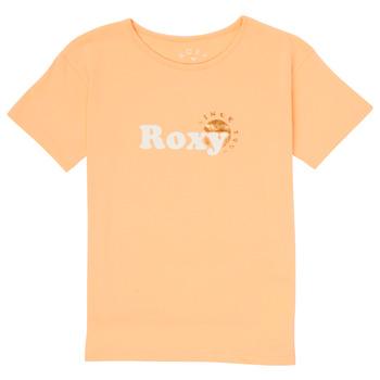 Ruhák Lány Rövid ujjú pólók Roxy DAY AND NIGHT FOIL Rózsaszín