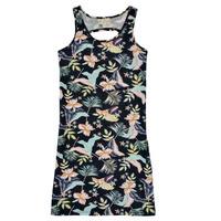 Ruhák Lány Rövid ruhák Roxy FLOWER SHADOW DRESS Fekete