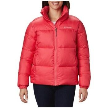Ruhák Női Steppelt kabátok Columbia Puffect Jacket Piros