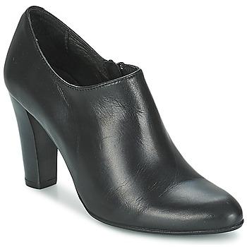 Cipők Női Bokacsizmák Betty London IVELVET Fekete