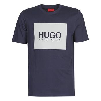 Ruhák Férfi Rövid ujjú pólók HUGO DOLIVE Tengerész