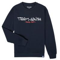 Ruhák Fiú Pulóverek Teddy Smith S-MICKE Tengerész