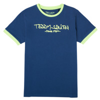 Ruhák Fiú Rövid ujjú pólók Teddy Smith TICLASS 3 Tengerész