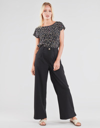 Ruhák Női Lenge nadrágok Molly Bracken EF1424P21 Fekete