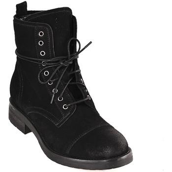 Cipők Női Bokacsizmák Mally 5038 Fekete