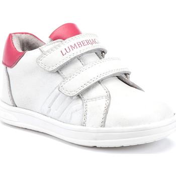 Cipők Gyerek Rövid szárú edzőcipők Lumberjack SG64912 003 B01 Fehér