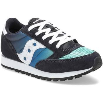 Cipők Gyerek Rövid szárú edzőcipők Saucony SK262470 Fekete