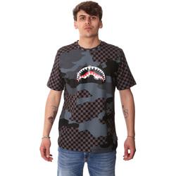 Ruhák Férfi Rövid ujjú pólók Sprayground SP01820BLA Fekete