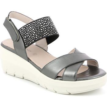 Cipők Női Szandálok / Saruk Grunland SA1880 Fekete