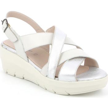 Cipők Női Szandálok / Saruk Grunland SA1877 Fehér